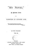 My Novel   Or  Varieties in English Life PDF