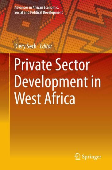 Private Sector Development in West Africa PDF