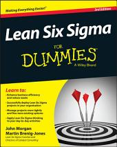 Lean Six Sigma For Dummies: Edition 3
