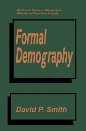 Formal Demography
