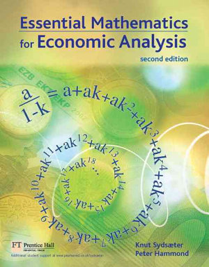 Essential Mathematics for Economic Analysis PDF