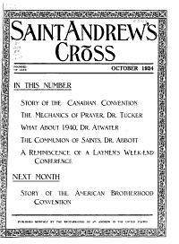 St  Andrew s Cross PDF