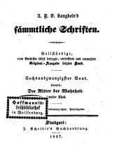 Prosaische Werke: in dreißig Bänden, mit ein und dreißig Stahlstichen. ¬Der Ritter der Wahrheit ; Theil 2. 21