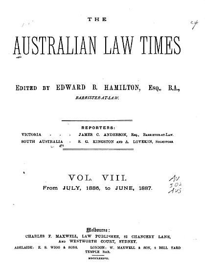The Australian Law Times PDF
