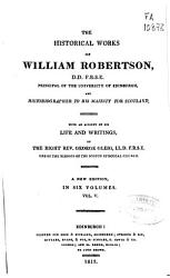The Historical Works Of William Robertson Book PDF