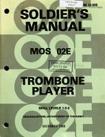 Trombone Player PDF