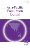 Asia Pacific Population Journal  Vol 26  No 2  June 2011 PDF