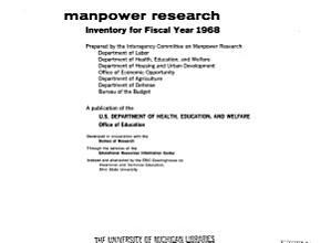 Manpower Research PDF