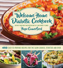 Welcome Home Diabetic Cookbook Book