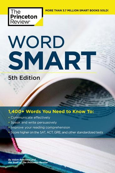 Word Smart  5th Edition PDF