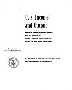 U S  Income and Output PDF