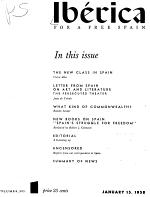 Ibérica, for a Free Spain
