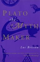 Plato the Myth Maker PDF