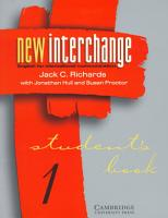 New Interchange Level 1 Student s Book 1 PDF