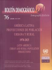 Demographic Bulletin of Latin America: Urban and Rural Population Projections 1970-2025