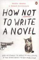 How Not to Write a Novel PDF