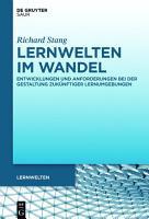 Lernwelten im Wandel PDF