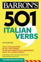 501 Italian Verbs PDF