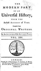 An universal history: from the earliest accounts to the present time, Volume 25