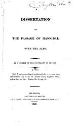 A Dissertation on the Passage of Hannibal Over the Alps