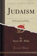Judaism PDF