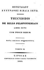 Thucydidis De bello Peloponnesiaco: libri octo. II
