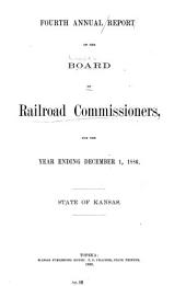 Annual Report of the Board of Railroad Commissioners, for the Year Ending ...: Issue 4