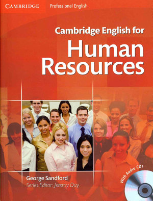 Cambridge English for Human Resources Student s Book with Audio CDs  2