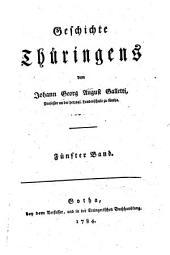 Geschichte Thüringens: Band 5