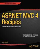 ASP NET MVC 4 Recipes PDF
