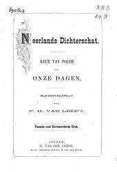 Neerlands dichterschat: keur van poëzie uit onze dagen