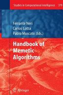Handbook of Memetic Algorithms