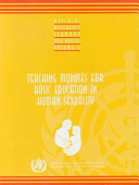 Teaching Modules for Basic Education in Human Sexuality