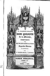 El ingenioso hildalgo don Quijote de la Mancha: Volumen 2