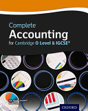 Complete Accounting for Cambridge O Level & IGCSE®