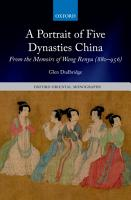 A Portrait of Five Dynasties China PDF