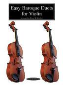 Easy Baroque Duets for Violin PDF
