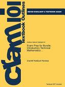 Exam Prep for Bundle  Introductory Technical Mathematics     PDF