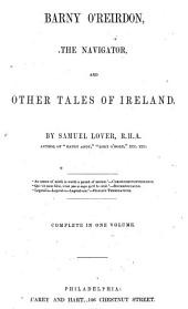 Barney O'Rierdon, Or, the Adventures of an Irishman