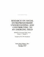 Research on Social Entrepreneurship PDF