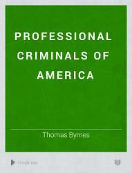 Professional Criminals of America PDF