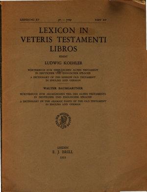 Lexicon in Veteris Testamenti Libros