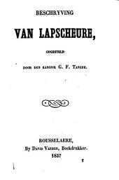 Beschryving van Lapscheure