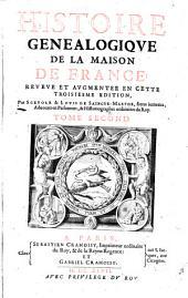 Histoire généalogique de la Maison de France