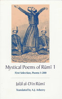 Mystical Poems of Rūmī