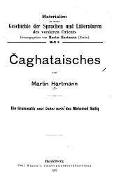 Čaghataisches