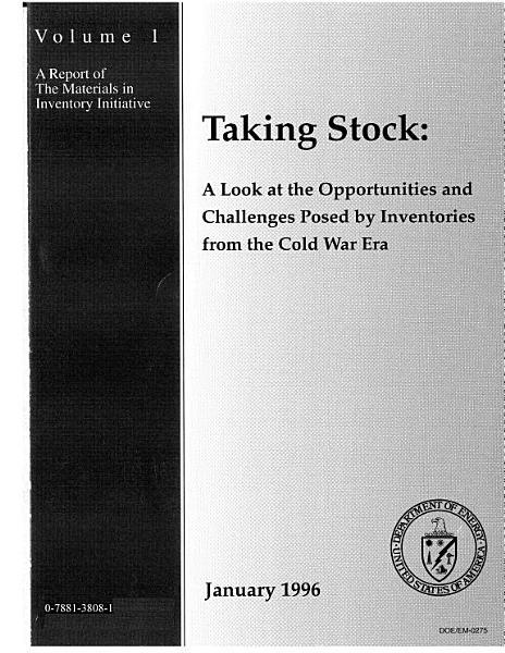 Taking Stock PDF