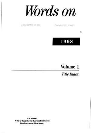 Words on Cassette PDF