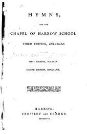 Hymns for the Chapel of Harrow School