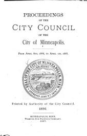 Proceedings of the City Council of the City of Minneapolis, Minnesota from: Volume 10